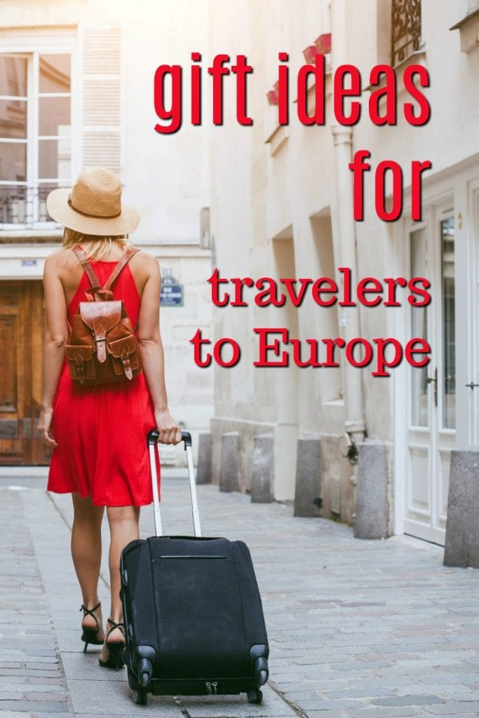 Gift Ideas for Travelers to Europe | Gifts for Backpackers | What to buy a college graduate | Christmas presents for a traveler | Birthday gifts for a backpacker | Presents for someone traveling