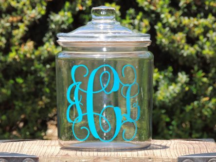 Glass cookie jar thoughtful thank you gift ideas for mentors