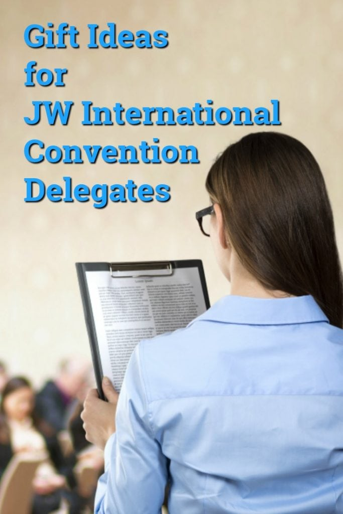 Gift Ideas for JW International Convention Delegates | Jehovah's Witness Gifts | Jehovah's Witnesses Presents | SWAG for the JW International Convention