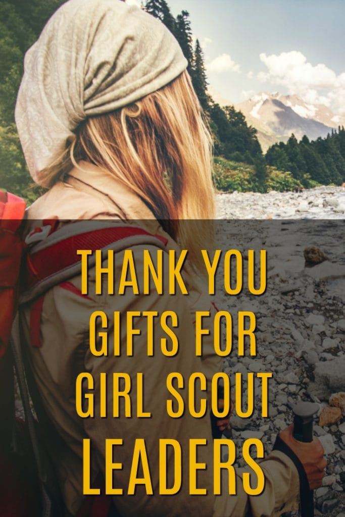 Thank you gifts for girl scout leaders | Girl Scouts Thank Yous | Leadership thank yous | Presents for Scout Volunteers | Girl Guide Thank Yous | Scouting Thanks