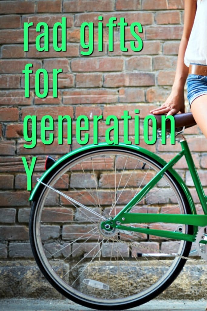 Rad Gifts for Generation Y | Christmas Presents for Millennials | Gen Y Birthday Gift Ideas | What to get my BFF for her Birthday | Creative Gift Ideas for 20-somethings | Gifts for 30-somethings | Celebration gifts