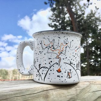 A mug for camping is definitely great thank you gift ideas for boy scouts leaders.