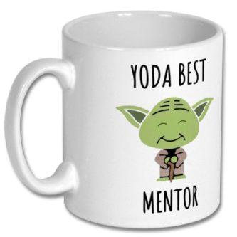 Yoda best mentor gift idea - funny mentor thank you gift