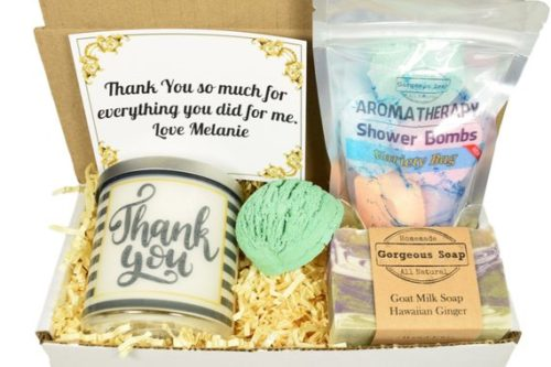 thank you gift box thank you gift ideas for mentors
