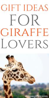 Gift Ideas for Giraffe Lovers | Birthday presents for people who like giraffes | Creative Christmas presents | Giraffe decor | Birthday gifts for men and women | Animal Lover presents | Anniversary gifts with giraffes | Giraffe prints | Giraffe cookie cutter | Giraffe accessories