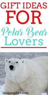 20 Gift Ideas for Polar Bear Lovers