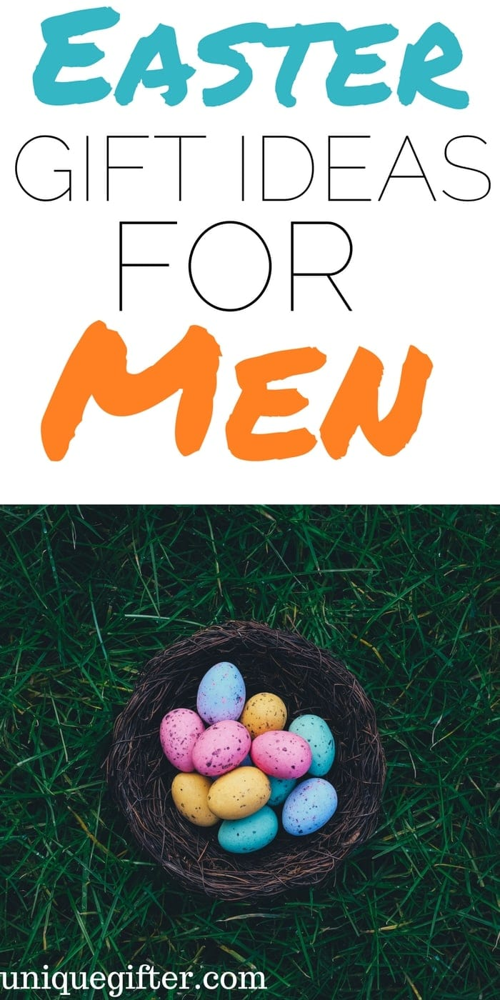 Easter Basket Gift Ideas for Men | Fun things to get my husband for Easter | Easter Egg Hunt items for adults | What to put in an Easter basket for my boyfriend | fun Easter presents for males