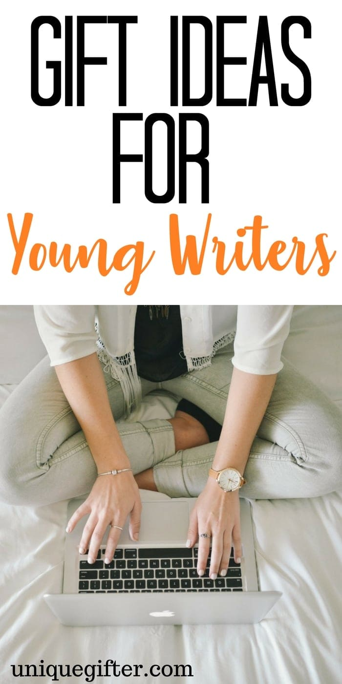 Gift Ideas for Young Writers | Birthday Gifts for Bookworms | Aspiring Writer Presents | Christmas Gift Inspiration for someone who loves to write | What to buy a budding journalist | Gifts for Teenagers | Gifts for College Students | Creative writing gifts