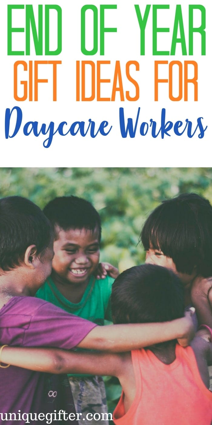 End of Year Gift Ideas for Daycare Workers | Thank you gifts for daycare | Playcare Christmas gifts | Childminding gift ideas | Presents for babysitters | Nanny gift ideas