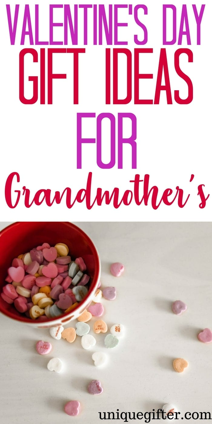 Valentine's Day Gift Ideas for Grandmothers | What to buy Nana for Valentine's Day | Fun grandparent gifts for Valentine's Day | Grannie Gift Ideas | Valentine's Day Presents for Granny | Gifts from the kids | Grandkid gift ideas