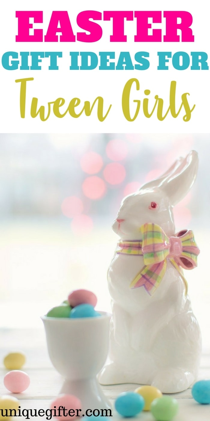 Easter Gift Ideas for Tween Girls | 12 year old girl gifts for Easter | Creative Easter basket fillers | 5th grade gifts | 6th grade gifts | Easter Bunny Presents