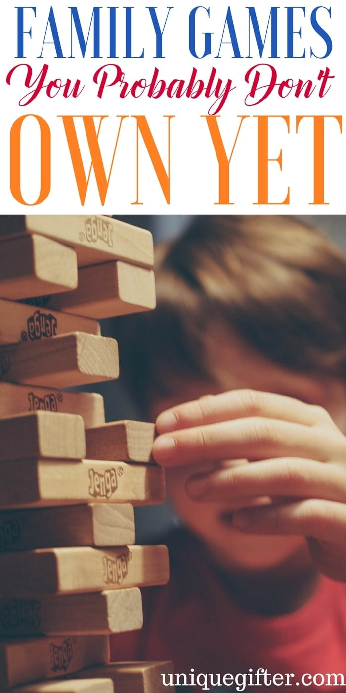 Family Games You Probably Don't Own Yet   Family Fun Ideas   Game Night Gifts   New Board Games   Gaming Ideas   Family Date Night Inspiration   Activities with Kids   Children's Entertainment   Cheap Adult Fun   Ways to have fun on a budget   frugal fun