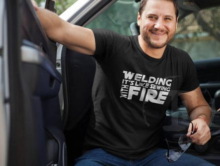 Funny welder t-shirt gift ideas for welders