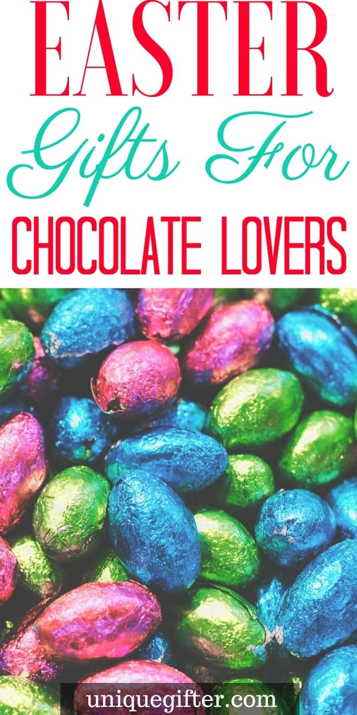 Appropriate Easter Gifts for Chocolate Lovers | Fun things to get my Mom and Dad for Easter | Easter Egg Hunt items for grandparents | What to put in an Easter basket for my parents | fun Easter presents for adults | Easter gift ideas for friends | Easter gifts for a couple | Chocoholic Easter Gifts | The best chocolate for Easter | Easter treats