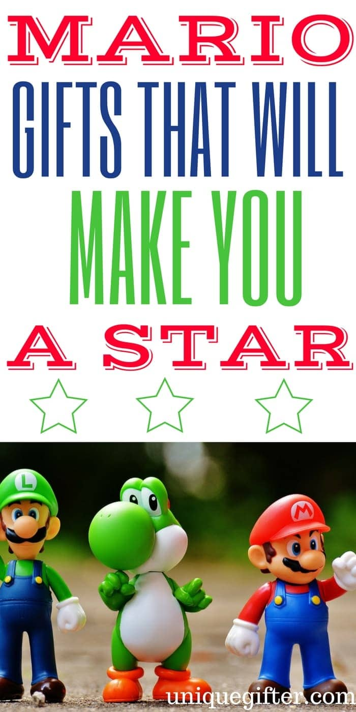 Mario Gifts that will make you a star | New Mario brothers gifts | nintendo switch presents | Great Geek gifts | videogamer gift ideas | videogame fun | video game | online games | mariokart inspiration | fun Christmas presents for gamers | nerd gift ideas | Mario Bros accessories | birthday presents for my boyfriend | Anniversary presents for my girlfriend