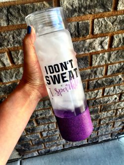 Water bottle gift ideas for a personal trainer