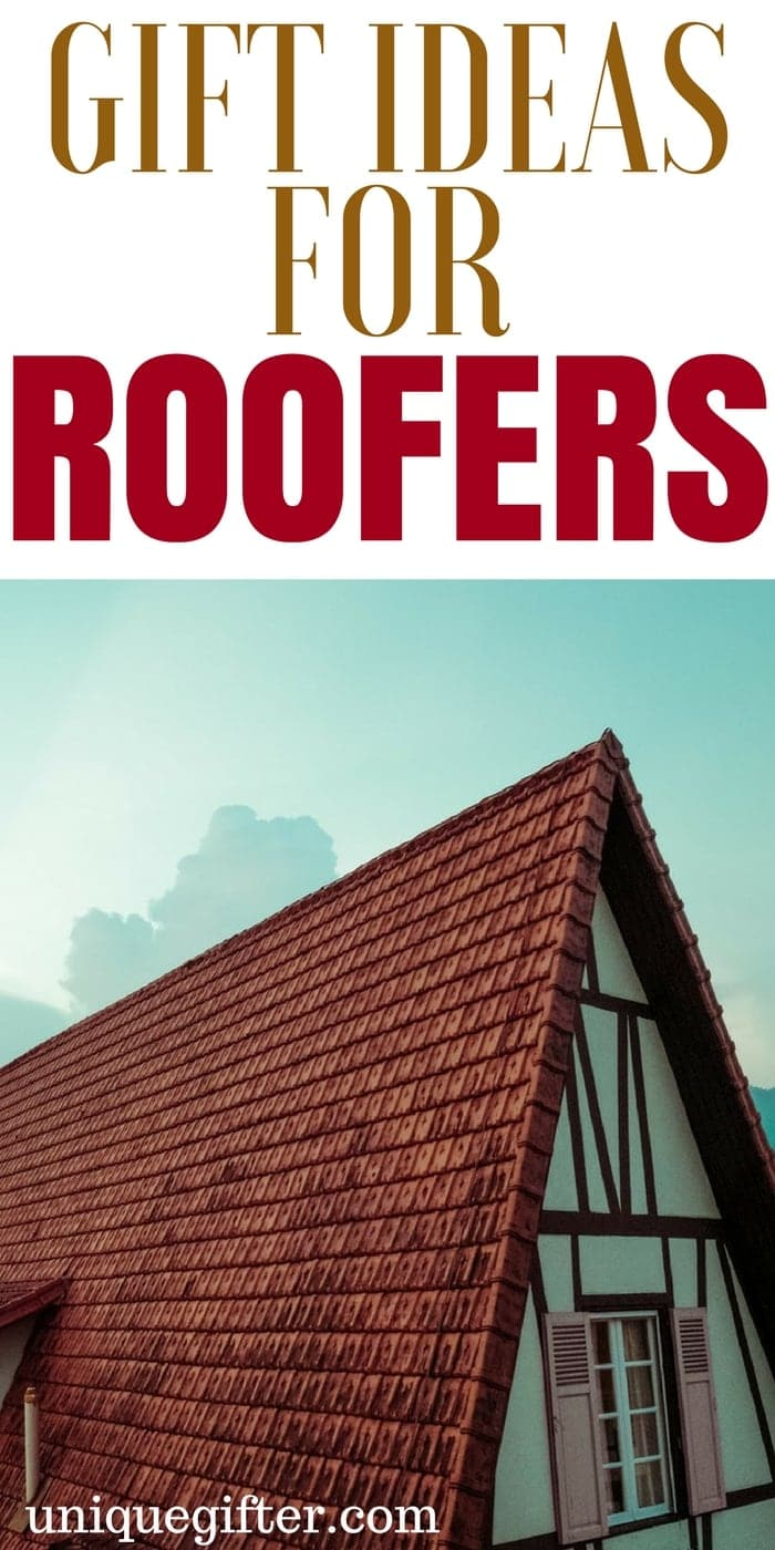Gift Ideas for Roofers | Thank you gifts for a roofer | What to buy a roofer for Christmas | Roofing crew gift ideas from my boss | What to get my employees for birthday presents | Creative gifts for a construction crew | Exterior finishing crew gifts | #roofer #roofing #gifts
