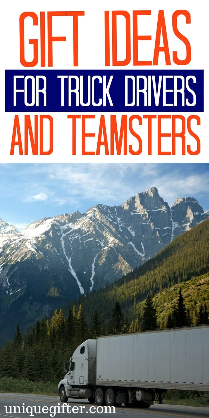 Gift Ideas for a Trucker | Gift Ideas for Truck Drivers/Teamsters | What to buy for a trucker | On the road gift ideas for a trucker or Teamster | What to buy a teamster for #Christmas | Travel Gift for a Teamster | Unique Gifts for a Truck driver | Epic Gifts for a Trucker or Teamster | #gifts #Christmas #Trucker
