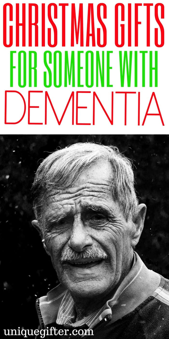 Christmas Gifts for Someone with Dementia | What to buy for someone with Dementia | Special gifts to buy for someone with Dementia | Presents for Someone with Dementia | Memorable gifts to give to someone with Dementia | Dementia Gifts | #giftideas #holidays #Dementia