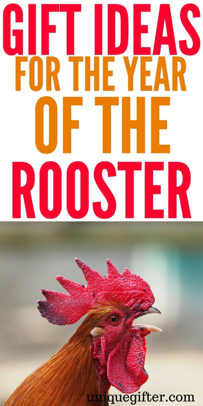 Gift Ideas for the Year of the Rooster | Chinese New Year Gift Ideas | Red Envelope Inspiration | Lunar New Years Gifts | Asian New Year Celebration Gifts | Fun New Year's Gift Inspiration | Birthday presents by Chinese Zodiac #rooster #zodiac #newyears