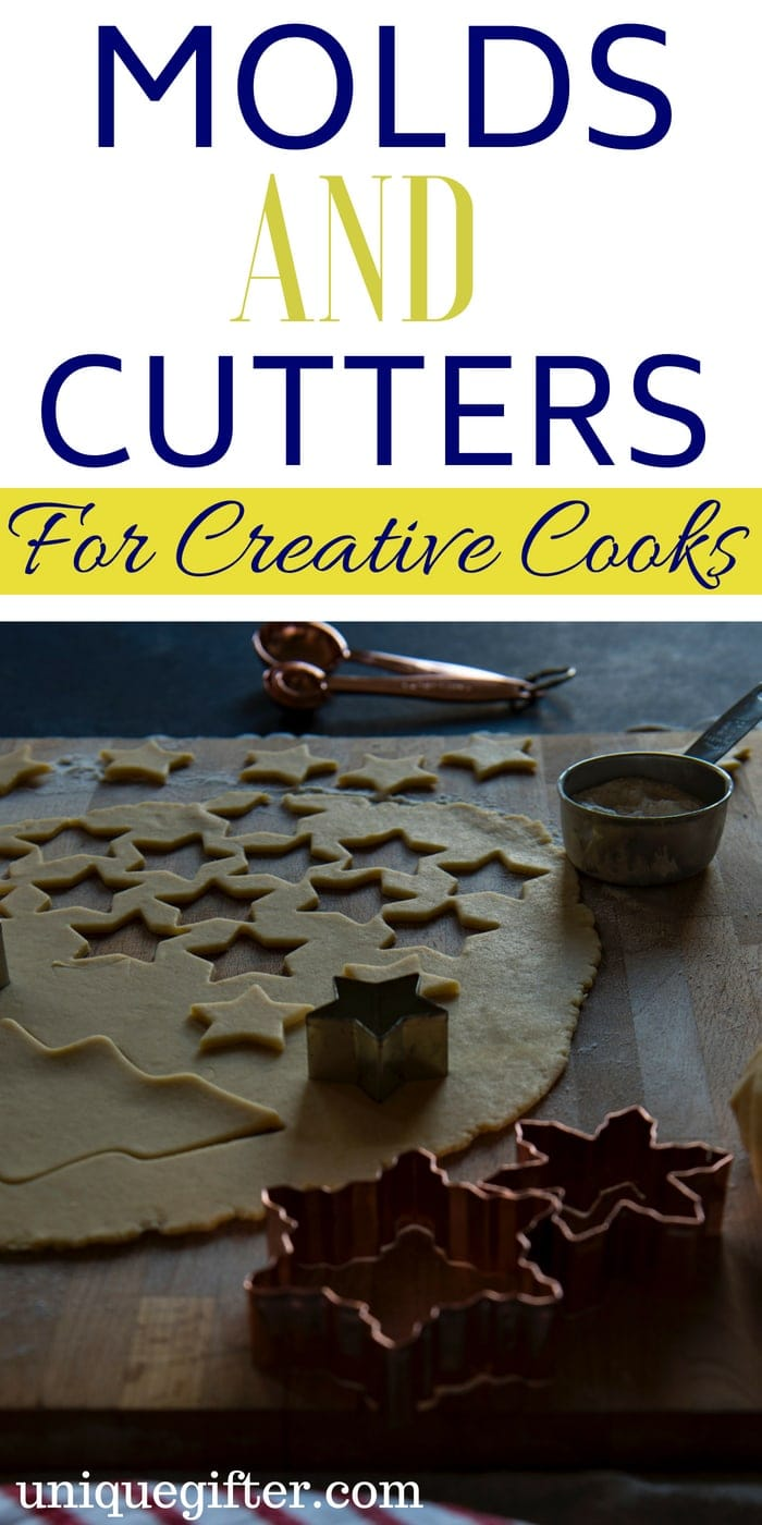 Molds and Cutters for Creative Cooks Gift Ideas   What to Buy for a Cook   Creative Cook Presents   #Christmas Molds and Cutters for Creative Cooks   Epic Molds and Cutters Gifts   What to Buy for Someone Who Bakes A Lot   #gift #holiday #cookiecutter