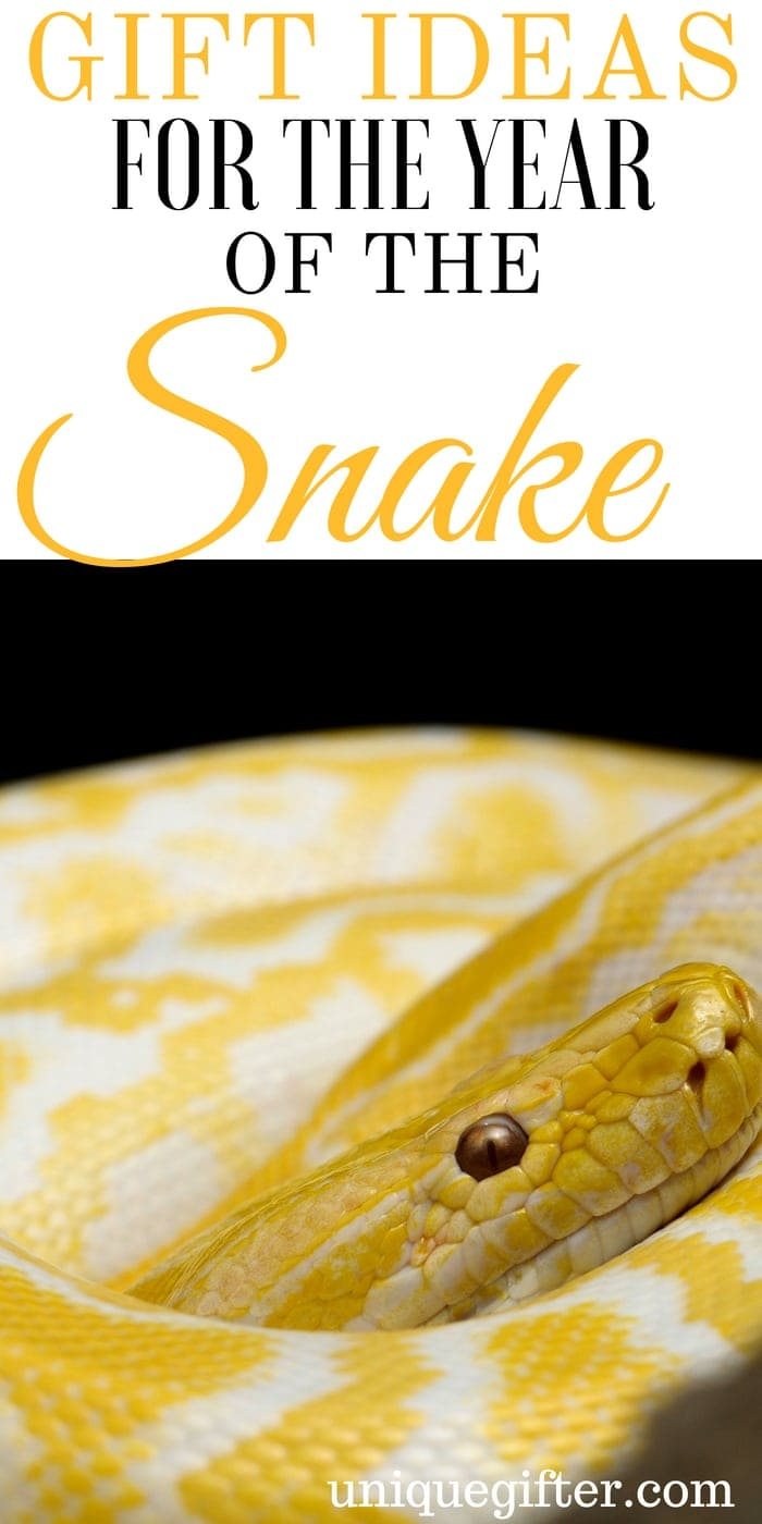 Gift Ideas for the Year of the Snake | What to buy someone for the year of the snake | Year of the snake gift ideas | Presents to give for the Year of the snake | Memorable gifts to give someone for the year of the snake | Year of the Snake | #yearofthesnake #snake #gifts