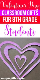 Valentine's Day Classroom Gifts for 8th Grade Students | What to buy 8th Grade Students for Valentines Day | Presents for Classmates on Valentines Day | Unique Valentine's Day Gifts for 8th Grade Students | Classmate Gifts for 8th Grade for Valentine's Day | Appropriate Valentine's Day Gifts for 8th Graders | #8thGrade #classroomgifts #valentinesday