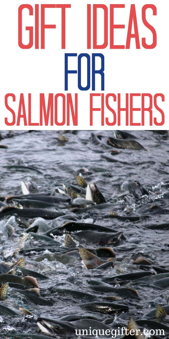 Gift Ideas For Someone Who Salmon Fishes| Salmon Fisher Gifts Ideas | Presents for a Salmon Fisherman | Birthday Gifts For Someone Who loves Salmon Fishing | What to buy for someone who is a salmon fisherman| Salmon Fisher Inspired Gifts | Salmon Fisher Themed Presents| #SalmonFisher #OutdoorGifts #presents