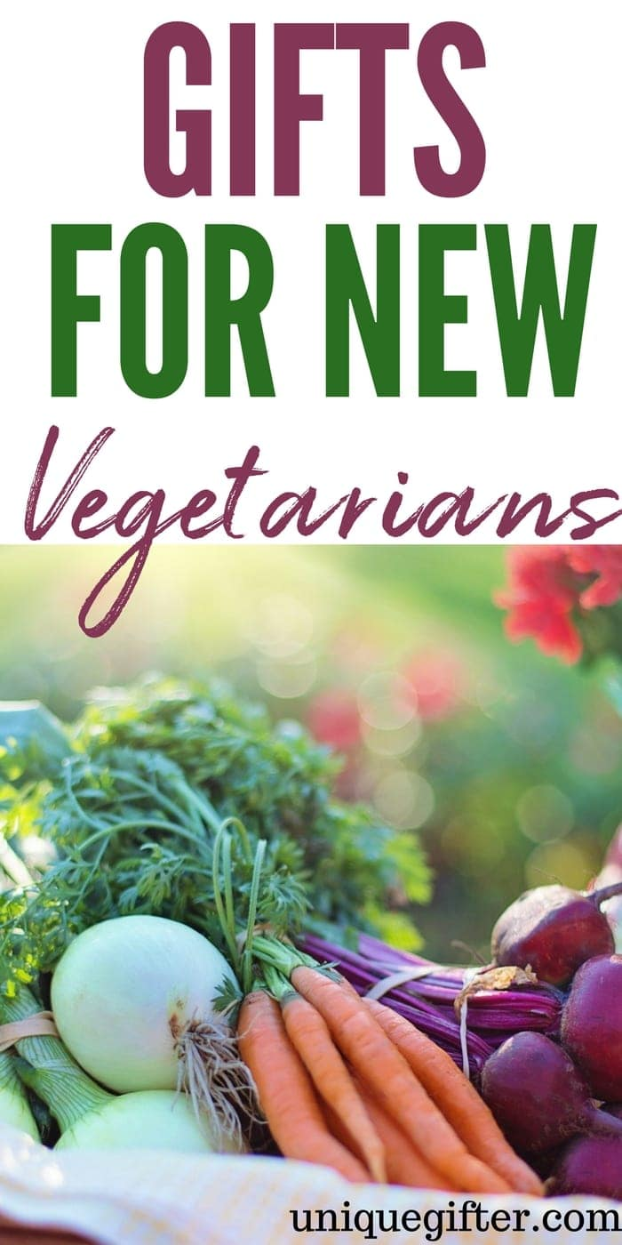 What to buy for a new vegetarian | Newly Vegetarian Gift Ideas | Presents for a Vegetarian | New Vegetarian Gifts | Unique Vegetarian Inspired Gifts | Clever gifts for a Vegetarian | #vegetarian #giftideas #presents