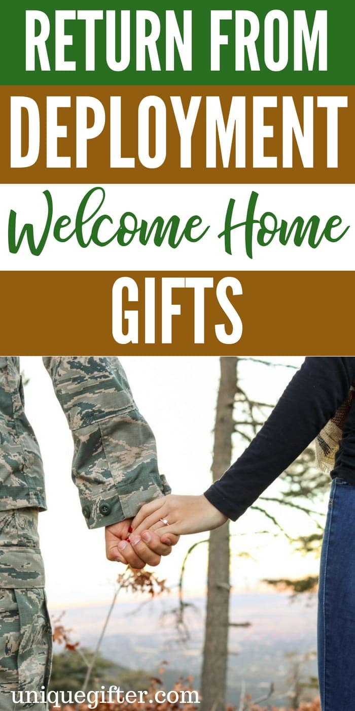 Return from Deployment Welcome Home Gifts | What to buy for someone returning from deployment | Special Welcome Home Gifts for Deployment | Deployment Gift Ideas | What to Buy To welcome a Service Man Home | What To Buy To Welcome A Service Woman Home | Unique Gifts To Welcome Home After Deployment | #WelcomeHome #Deployment #Gifts