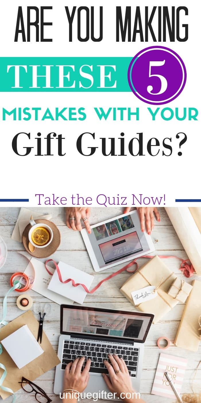 Are you making these 5 mistakes with your gift guides? Take the quiz and find out! There's constant learning in the blogging world, I'm so glad to learn from other people who have figured things out.