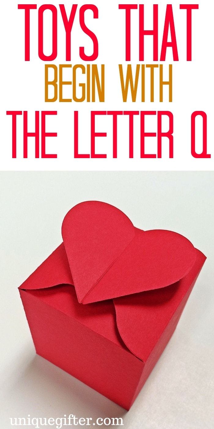 Toys that Begin with the Letter Q   Kid Toys That Begin with the Letter Q   Age 2-5 Toys That Begin with Q   Age 6-8 Toys that Begin With Letter Q   What toys for kids begin with the letter Q   #KidToysByLetter #Gifts #PresentsForKids