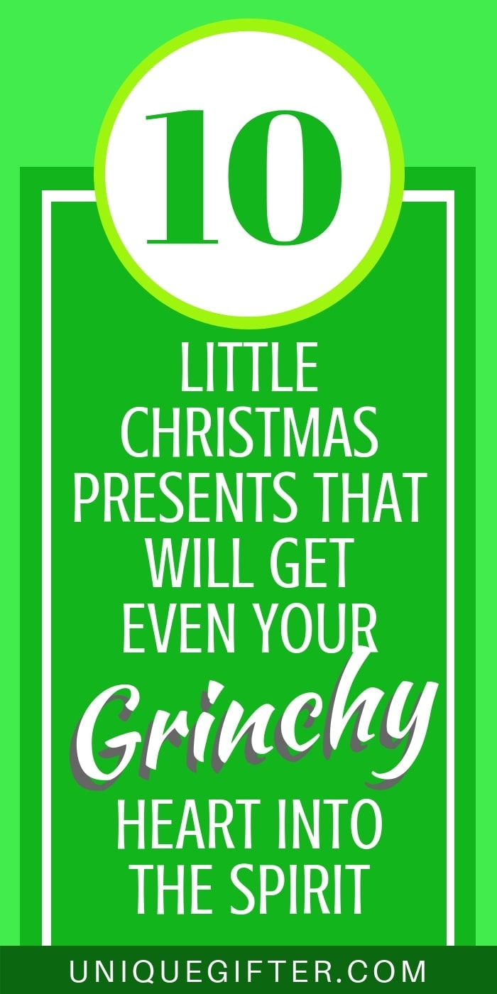 10 little christmas presesnts that will gt even your grinchy heart into the spirit of christmas | Fun Christmas gifts for friends and family | Cute hostess and office gift exchange ideas that are cheap and affordable under $10 presents.