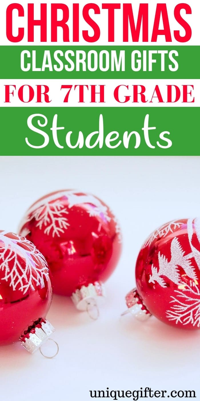 Christmas classroom gifts for 7th grade students | Christmas Gifts for 7th grade students that they will love | 7th grade students gift ideas | What to buy a 7th grade students for #Christmas | 7th grade students presents | Unique gifts for a 7th grade students | What to buy a C 7th grade students for the holidays | 7th grade students gift ideas for a friend | Christmas | Present | Holiday #7th gradestudents #holiday #giftideas