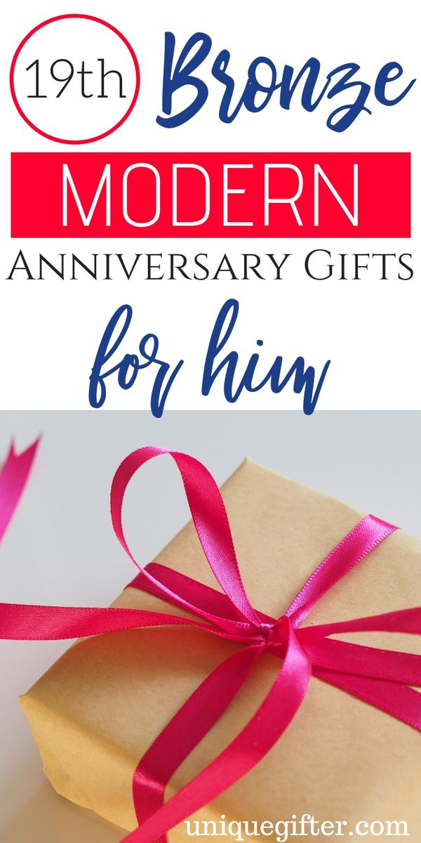 19th Bronze Modern Anniversary Gifts for Him | Unique 19th Bronze Modern Gifts for Him | Present Ideas for Him for 19th Bronze Modern Anniversary | Special Gifts for 19th Bronze Modern Anniversary Gifts for Him | 19th Bronze Modern Anniversary Gifts for Him | Creative and Unique 19th Bronze Modern Anniversary Gifts for Him | #19th #anniversary #him