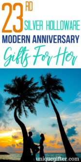 16th Silver Holloware Modern Anniversary Gifts For Her | Beautiful Anniversary Gifts For Her | 23rd Wedding Anniversary Gifts For Her | Celebrate Your Anniversary With These Gift Ideas | Gifts For Your Wife | 23rd Year Of Marriage | #gifts #giftguide #anniversary #giftsforher #presents