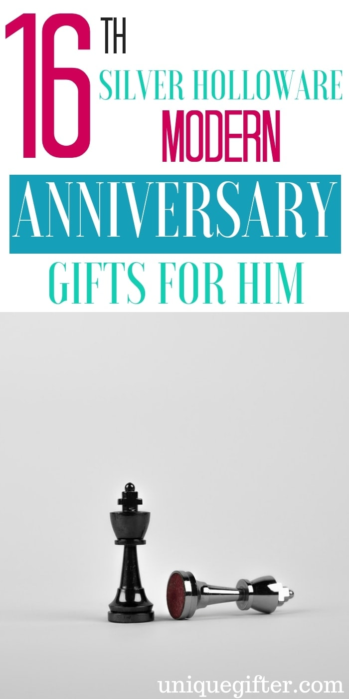 16th Silver Holloware Modern Anniversary Gifts for Him | Anniversary Gifts For Him | 16th Anniversary Gift For Your Husband | Unique Gifts For 16th Anniversary | Modern Anniversary Gifts | Modern 16th Anniversary Gifts | Anniversary Presents For Husband | #gifts #presents #giftguide #anniversary #husband