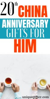20th China Anniversary Gifts For Him | Presents For Husband | Wedding Anniversary Gifts | 20th Wedding Anniversary | Gifts For Husband | Creative Wedding Anniversary Gifts | Unique Wedding Anniversary Gifts | Thoughtful Husband Gifts | #gifts #giftguide #anniversary #presents #unique