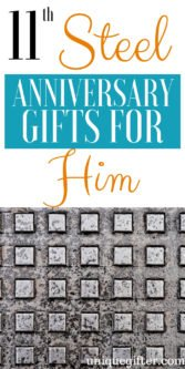 11th Steel Anniversary Gifts For Him | 11th Anniversary Gifts For Him | 11th Anniversary Gifts | Gifts For Your Husband | 11th Wedding Anniversary Gifts | 11th Wedding Anniversary Gifts For Him | Creative Gifts For Him | Unique Gifts For Him | Unique Anniversary Gifts | #gifts #giftguide #anniversary #presents #unique