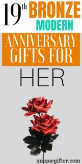 19th Bronze Modern Anniversary Gifts For Her | Gifts For Your Wife | Wedding Anniversary Gifts | Gifts To Celebrate Anniversary | Present Ideas For Your Wife | Gifts For Her | 19th Anniversary Gifts | 19th Wedding Anniversary | Gifts She Will Love | Anniversary Gifts | #gifts #giftguide #anniversary #presents #unique