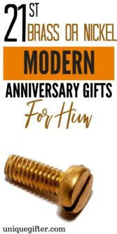 21st Brass or Nickel Modern Anniversary Gifts For Him | 21st Wedding Anniversary Gifts For Him | 21st Anniversary Gifts | Wedding Anniversary Gifts | Unique Gifts For Him | Creative Gifts For Your Husband | Creative Wedding Anniversary Gifts| #gifts #giftguide #anniversary #presents #unique