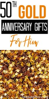 50th Gold Anniversary Gifts For Him | 50th Wedding Anniversary | 50th Anniversary Gifts For Him | Anniversary Gift Giving Guide | Wedding Anniversary Gift Guide | Presents For Your Husband | Gifts For Your Husband | 50th Anniversary | Gift Ideas For 50th Anniversary | #gifts #giftguide #presents #anniversary #unique