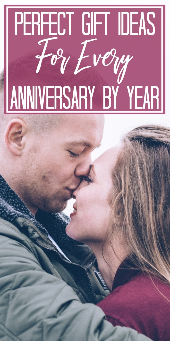 Pick out an amazing anniversary gift, whether you stick to the anniversary gift themes for each year, or find something creative and unique that your husband or wife will love. #anniversary #giftguide #gifts #presents #celebration