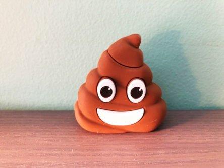 Poop Emoji USB Drive