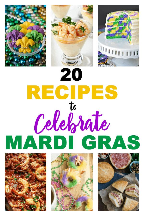 Recipes To Celebrate Mardi Gras | Fun Recipes For Mardi Gras | Creative Recipes For Mardi Gras | Mardi Gras Recipes | Mardi Gras Food | Party Food | #mardigras #food #recipes #unique #party