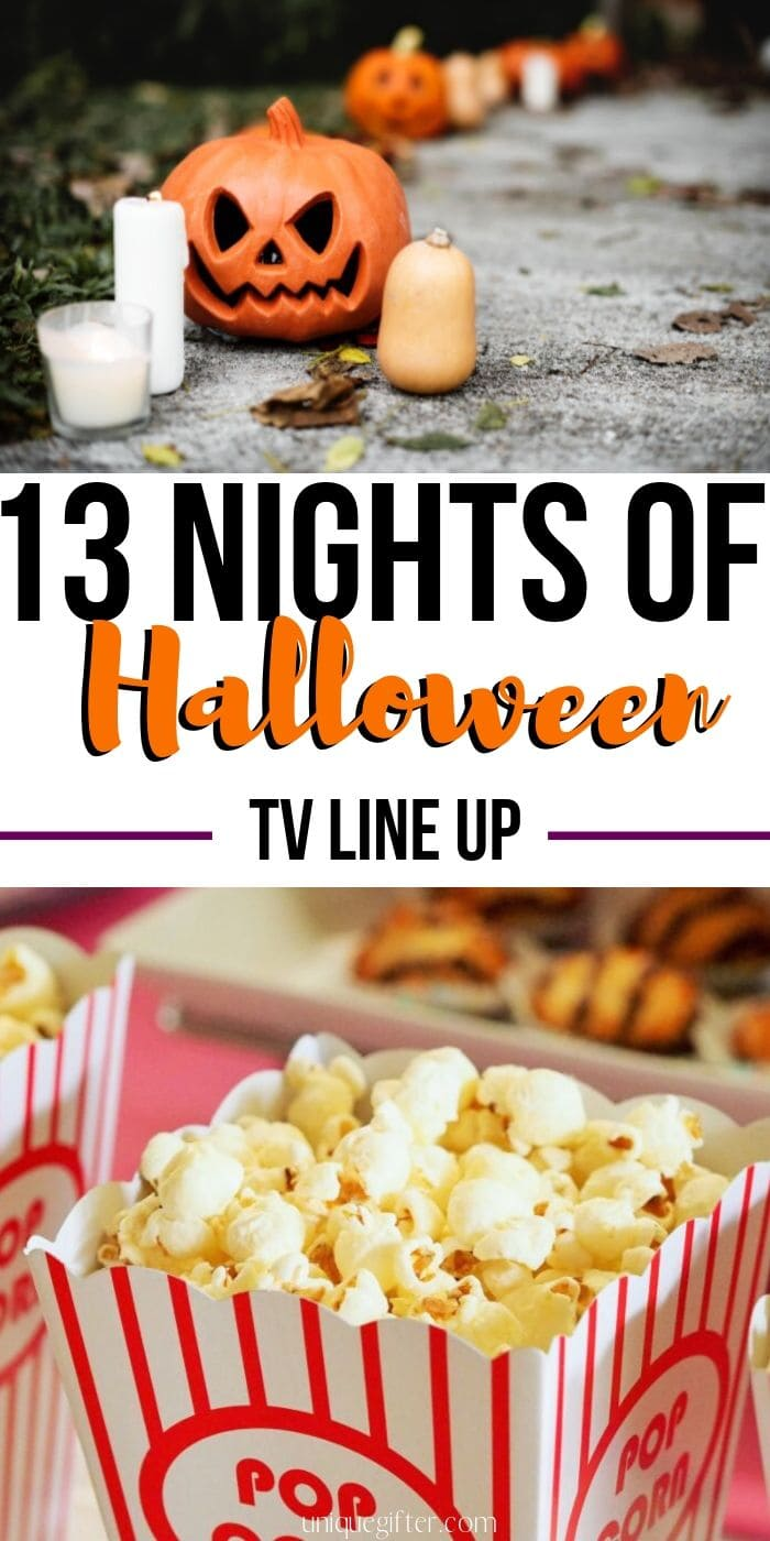 The 13 Nights of Halloween TV Schedule | Halloween Movies for the Family | Family Movie Night Ideas | Scary Movies to Watch | Kid-Friendly Scary Movies | Ghosts and Ghouls | Horror Flicks #halloween #creepy #halloweenmovies #halloweenshows #unique
