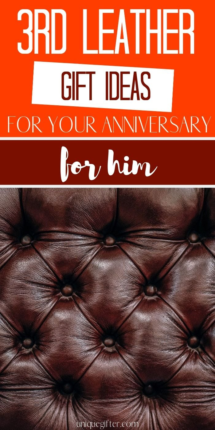 3rd Leather Anniversary Gifts for Him   3rd Anniversary Gift Ideas for Him   Leather Gift Ideas for Him   What to buy for your 3rd Wedding Anniversary for Him   Modern Leather Gift Ideas for Anniversary   What to buy for 3rd Leather Wedding Anniversary   Anniversary Presents for Him   #Anniversary #LeatherGifts #3rdAnniversary