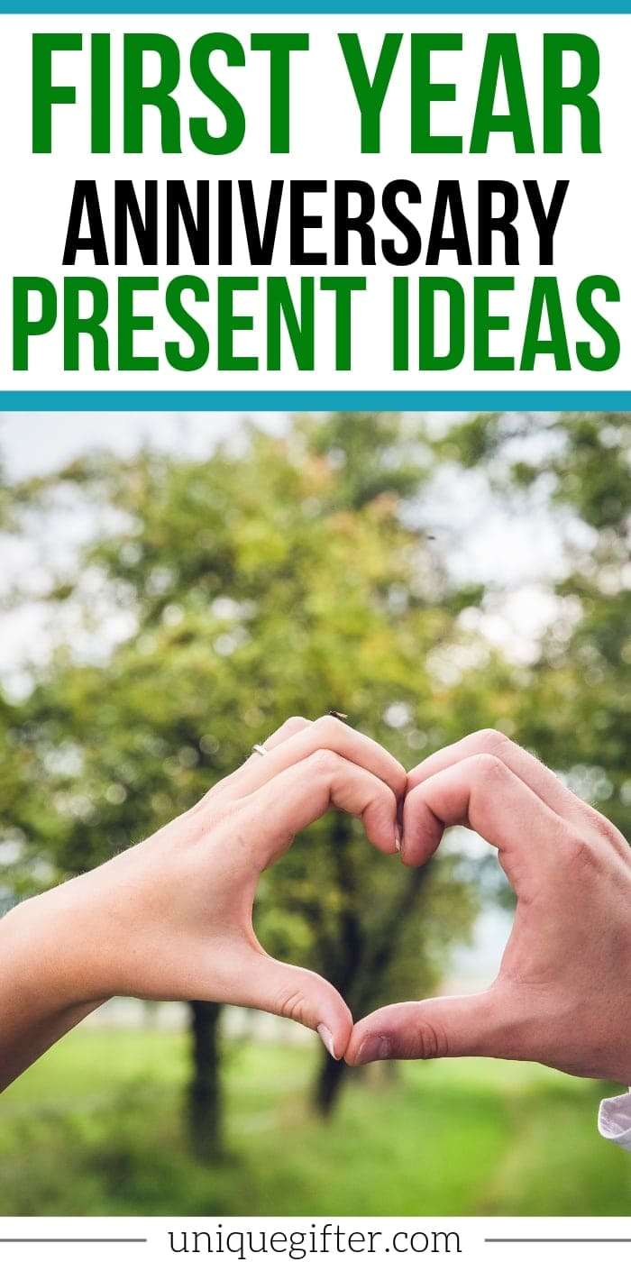 We survived our first year as newlyweds! I love the idea of picking traditional anniversary gifts each year - the first year is paper. I'm going to get my husband something inspired by this amazing list of ideas. I might even send it to him so he knows what to get his wife! Pin this, it's very helpful!