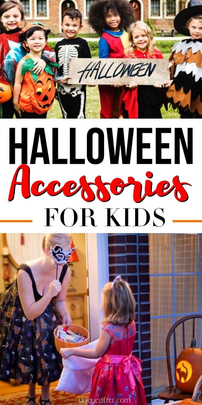 Have you seen these fantastic Halloween accessories for kids? The glow in the dark bags are an excellent safety item for kids, that just blends into the rest of their costume and candy hauling needs, so they won't even notice it's safer! #halloween #accessories #kids #halloweenbags #unique