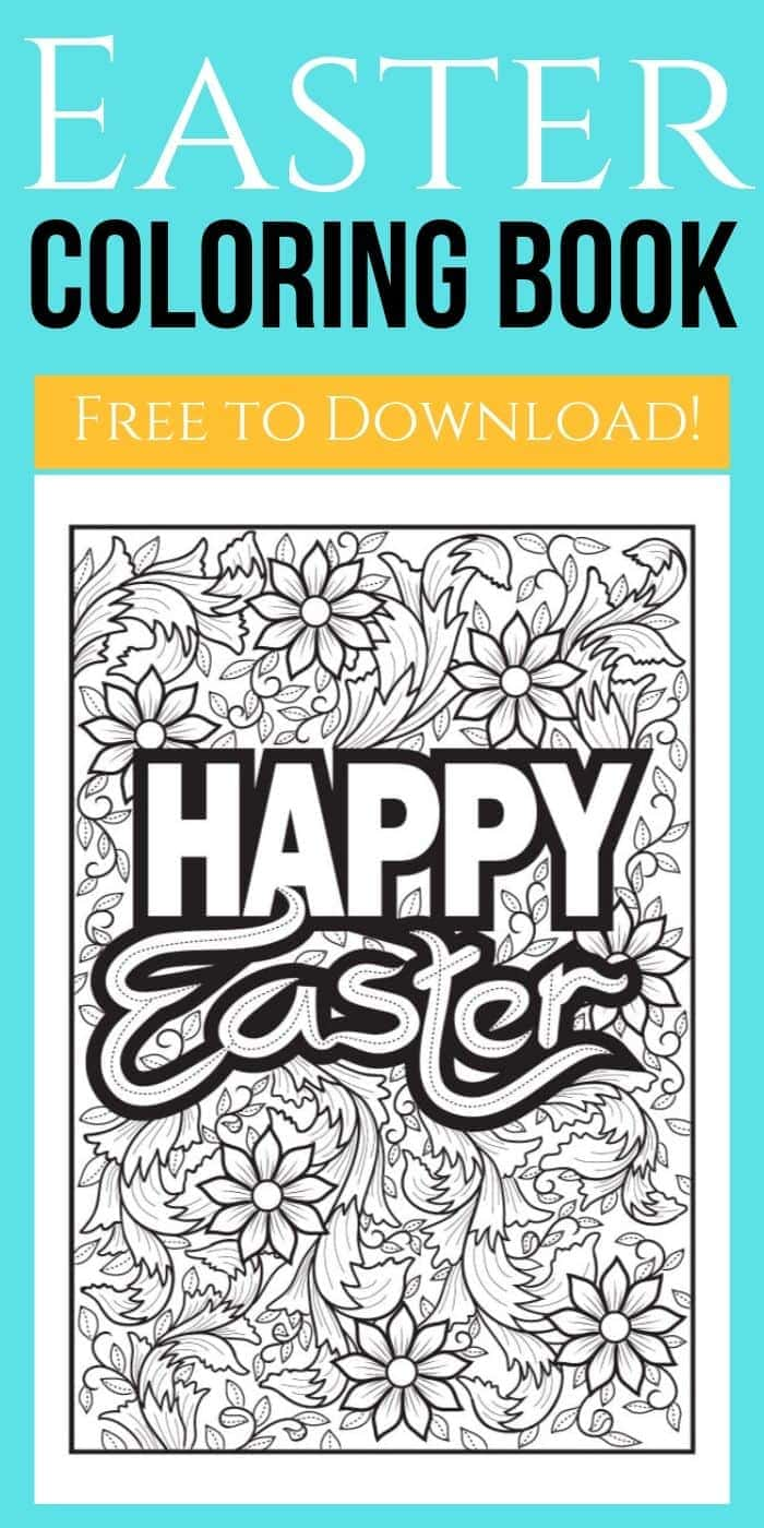 Free Printable Easter Adult Coloring Pages | Easter Coloring Pages | Adult Coloring Pages | Unique Coloring Pages | Downloadable Coloring Pages | Adult Coloring | Easter Adult Coloring | #easter #adultcoloringpages #coloring #printable #unique